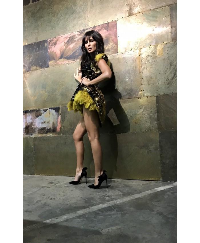 Feathery Dress